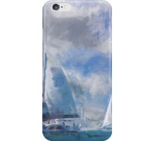 Sailing In the Gulf iPhone Case/Skin