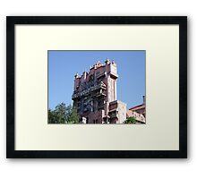 The Twilight Zone Tower of Terror Framed Print