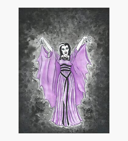 Lily Munster, Countess of Shroudshire Photographic Print