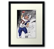 The UNSTOPPABLE Gronk Framed Print