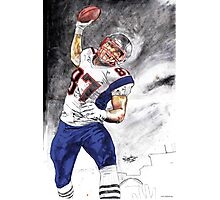 The UNSTOPPABLE Gronk Photographic Print