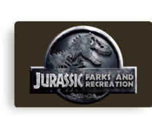 Jurassic Parks and Recreation - Parks and Rec - Andy Dwyer Canvas Print