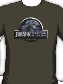 Jurassic Parks and Recreation - Parks and Rec - Andy Dwyer T-Shirt