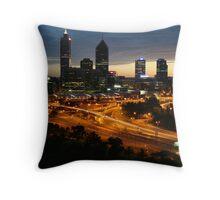 Perth City Throw Pillow