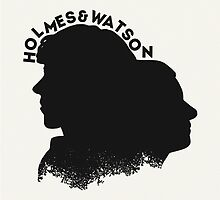Holmes and Watson by whoviandrea