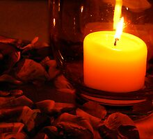 Romance by Rose Petals and Candlelight by thereisnosquare