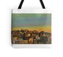 Ancient Athens Landmark Tote Bag