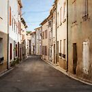 Empty Street of La Redorte by Jacinthe Brault