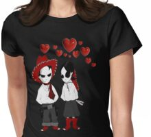 Language Of Love Womens Fitted T-Shirt