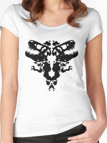 Rawrschach Test Women's Fitted Scoop T-Shirt