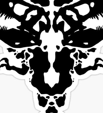 Rawrschach Test Sticker
