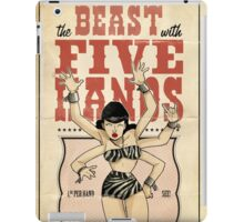 The beast with five hands  iPad Case/Skin