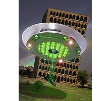The 16th Century Rahimyar Khan Friendly Alien Abduction Photographic Print