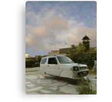 Awesome Adam Zabardast Jeep Sport Utility 4x4 Hovercar Canvas Print