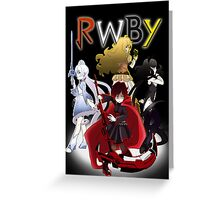 RWBY Greeting Card