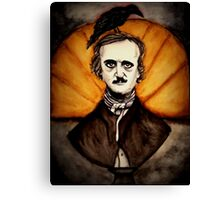 Quoth the raven, Nevermore  Canvas Print