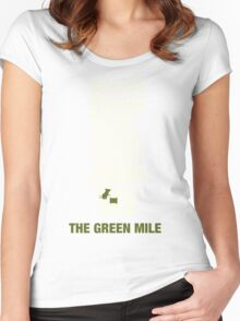 The Green Mile graphic design Women's Fitted Scoop T-Shirt