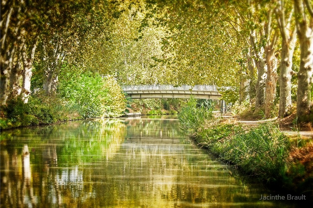 Bridge over the Canal by Jacinthe Brault