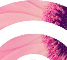 Wifi - Flower Sticker