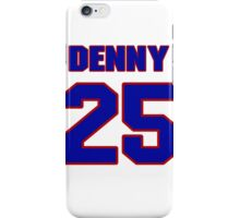 National baseball player Denny Galehouse jersey 25 iPhone Case/Skin