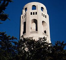 Coit Tower by StarshinePhoto