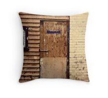 hall wall Throw Pillow