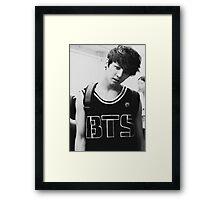 Jungkook of BTS inspired Framed Print