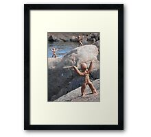 Clay People by Loch Maree Framed Print