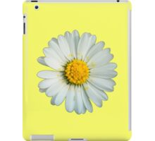 White daisy iPad Case/Skin