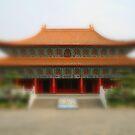 Mini temple by Elaine Li
