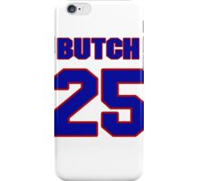 National baseball player Butch Sutcliffe jersey 25 iPhone Case/Skin