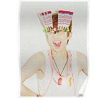 Key/Kim Kibum of SHINee inspired Poster
