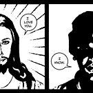 JESUS FORD by joltinjohnny