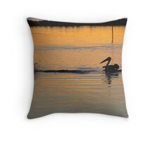 Mullet Splash Throw Pillow