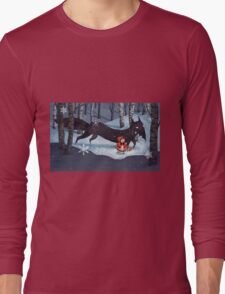 Little Red Riding Hood and the Wolf Long Sleeve T-Shirt