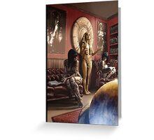 Steampunk Painting 005 Greeting Card
