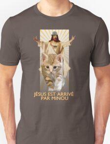 jesus est arrivé par minou T-Shirt