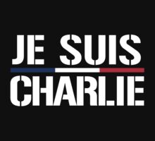 Je Suis Charlie T-Shirt or Hoodie by robotface