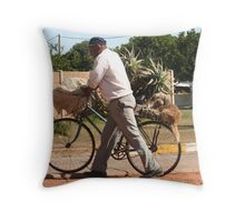 Back-seat Driver Throw Pillow