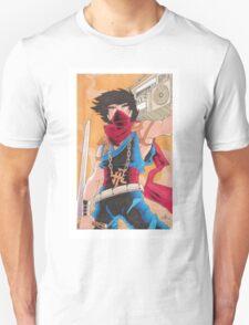 Strider Hiryu Fan Art  T-Shirt