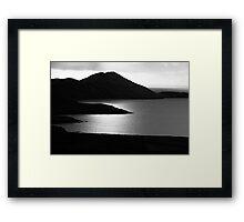 Tranquil Shore Framed Print