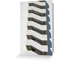 Building's Spine Greeting Card