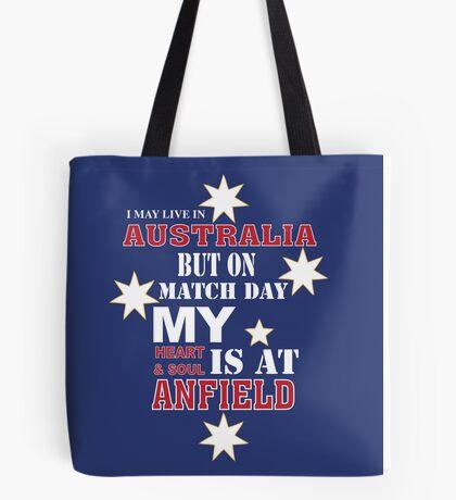 Liverpool Heart and Soul - Australia Tote Bag
