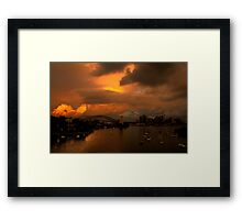 Something Wicked This Way Comes - Moods Of A City # 30 - Sydney , Australia Framed Print