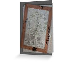 12 Monkeys Light Greeting Card