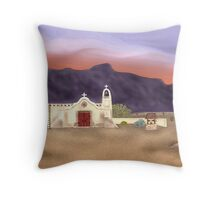 Desert Mission Throw Pillow