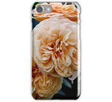 Peachy Roses iPhone Case/Skin