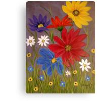 Wildflowers-2 Canvas Print