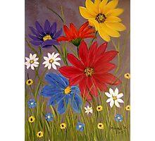 Wildflowers-2 Photographic Print