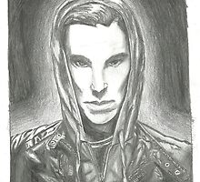 Benedict Cumberbatch by Bluebelldances